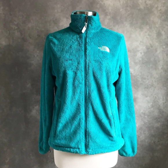 b5a0436aa North Face Teal Osito Jacket Teal Fuzzy Soft M